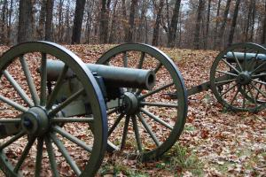 Canons used in the battle of Kennesaw