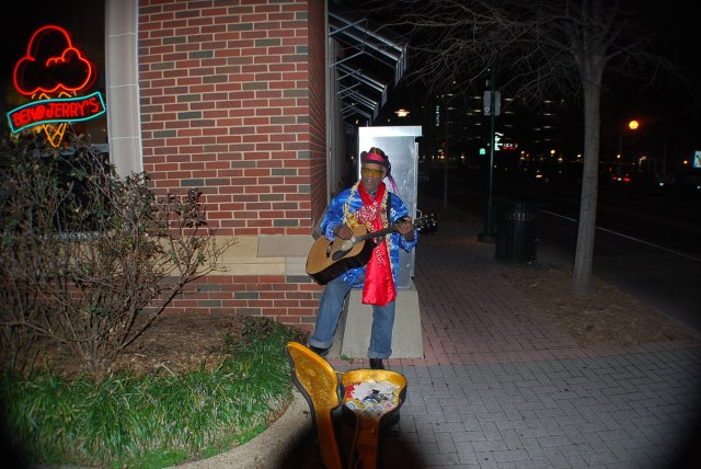 Deep South Blues Street Performer