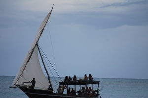 Sailing Party in Nungwi, Zanzibar