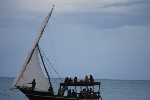 Sailing Party in Nungwi, Zanzibar