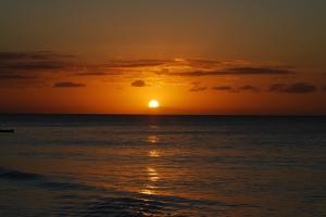 A Beautiful Sunset in a Swahili Beach, Zanzibar