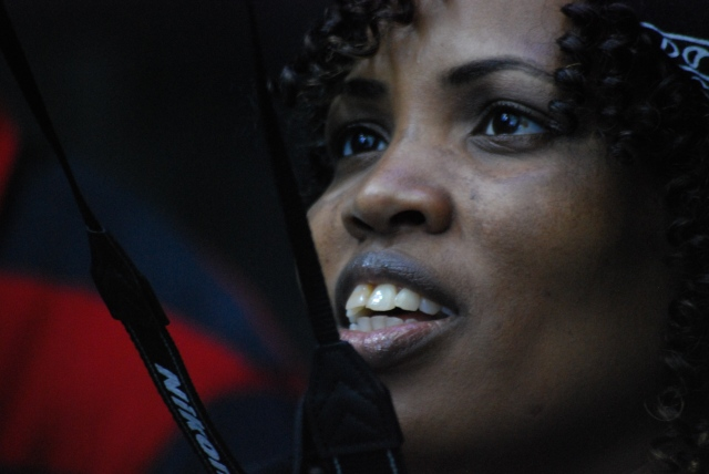"Mrs Mboyi ""up close and personal"""