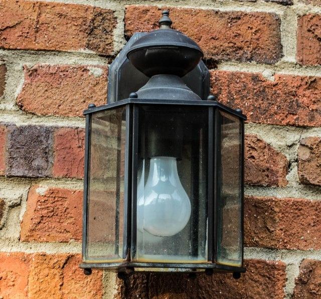 Exterior Lamp Post