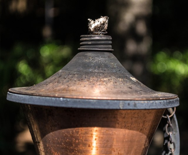 Backyard Oil Lamp