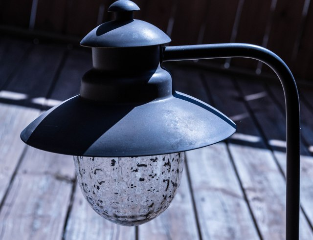 Backyard Ground Lamp